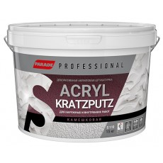 Декоративная штукатурка камешковая PARADE Professional Acryl KRATZPUTZ S110 К2 15 кг