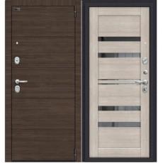 Дверь металлическая Porta S 4.П30 Brownie/Cappuccino Veralinga 980*2050 правая Россия