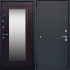 Дверь металлическая ЛИНИЯ NEW Букле Зеркало венге 960*2050 правая Россия