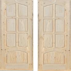 Дверной блок филенчатый ДФГ-800 арочный