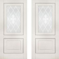 Дверное полотно экошпон Катрин-62 Айвори ПО-700