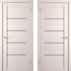 Дверное полотно экошпон Анкона 4 Кремовая лиственница ПО-800