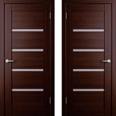 Дверное полотно экошпон Анкона 4 Венге ПО-800