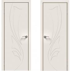 Дверное полотно Эмаль 04 белый ПГ-800