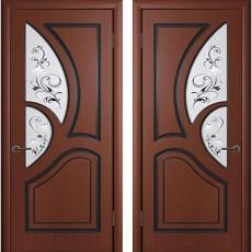 Дверь шпонированная Велес шоколад ПО-700
