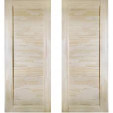 Дверное полотно Решетка ДГ-800 массив сосна без сучков Премиум