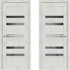 Дверь экошпон ЭКО Порта-30 ПО-700 Bianco Veralinga Mirox Grey