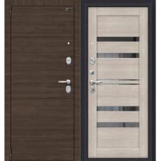 Дверь металлическая Porta S 4.П30 Brownie/Cappuccino Veralinga 980*2050 левая Россия