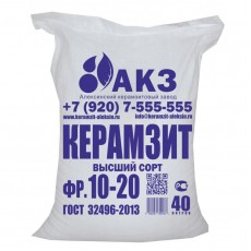 "Керамзит М250-300 ""АКЗ"" фракция 10-20мм (мешок 40 л)"