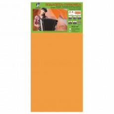 Подложка-гармошка под ламинат и паркетную доску Солид 1050х500х3 мм,оранжевая, упаковка 10,5 м2