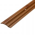 Порог С4 39,4мм алюминиевый р/ур. декор сосна светлая №081 длина 0,9м