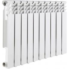 Радиатор алюминиевый ROMMER Profi 350 (AL350-80-80-080) 10 секций (RAL9016)