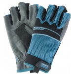 Перчатки комбинированные облегченные GROSS, открытые пальцы, М