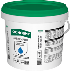 """Гидропломба """"Основит"""" HC61 Акваскрин 0,5 кг"""